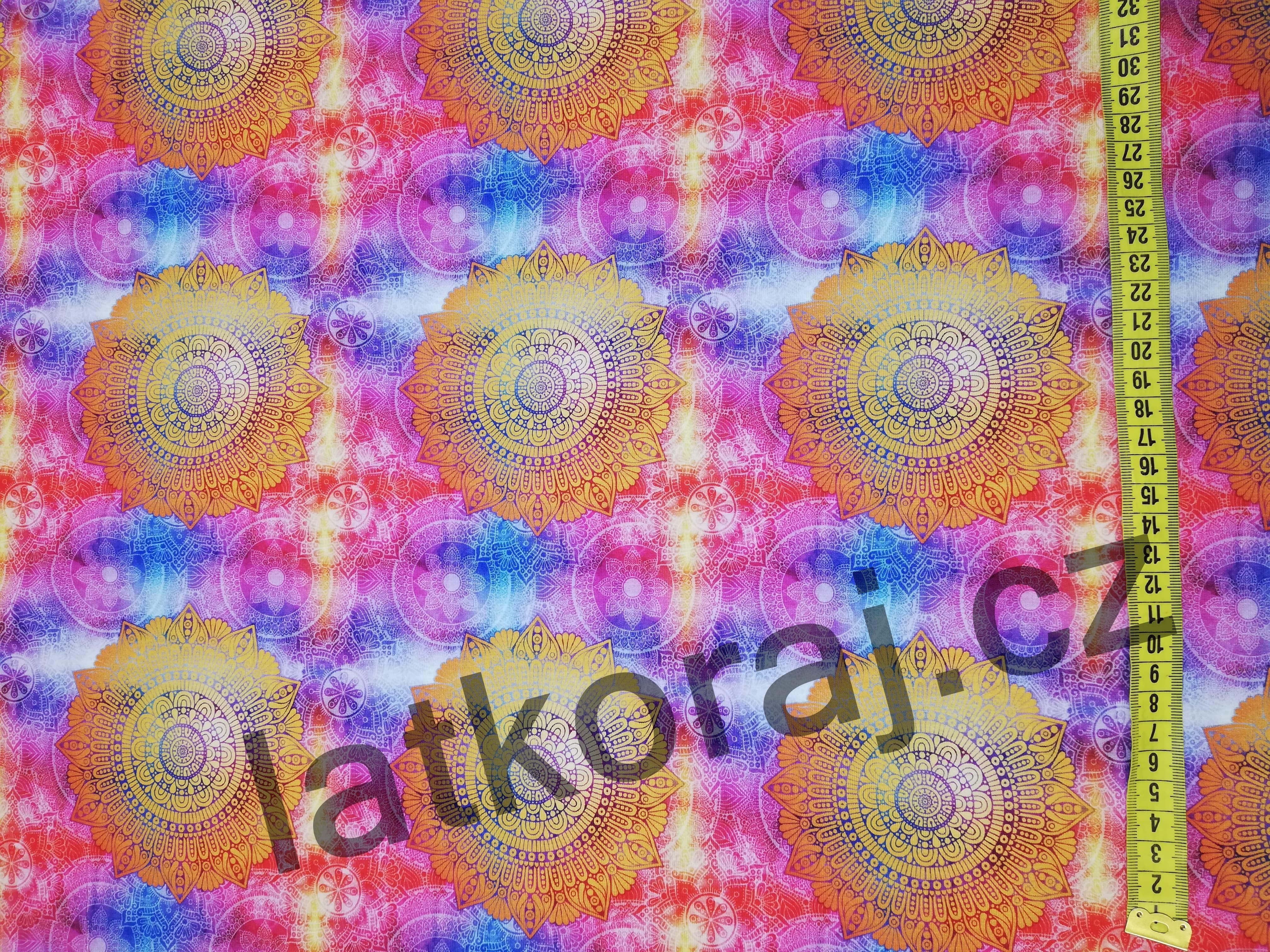 Úplet - barevné mandaly d0e26d60ddf